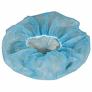 "Polypropylene Bouffant, 28"" Diameter, Size: XL, Package Quantity 1000"