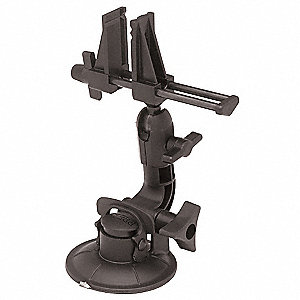 Multi-Angle Vise,Suction Cup,2-7/8 In