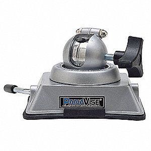 Swivel Vacuum Vise Base, Aluminum, Vacuum Base, 360° Swivel Angle