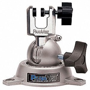 "Light Duty Multi-Angle Vise, 7/8"" Jaw Width, 1/2"" Max. Opening, 1-3/8"" Throat Depth"