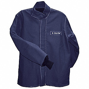 Flame-Resistant Jacket, Blue, S