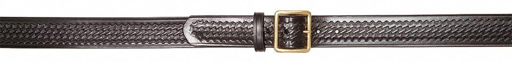Size 42 Gould /& Goodrich B52 Garrison Belt Brass Black