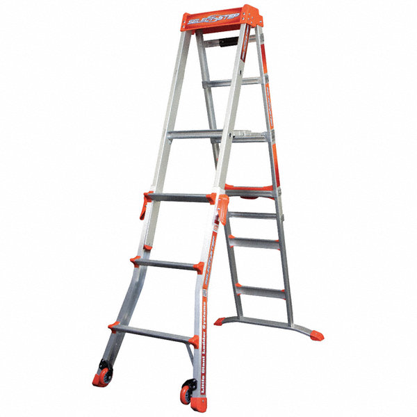 Little Giant 4 To 6 Ft 300 Lb Load Capacity Aluminum