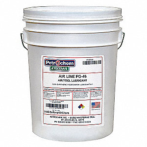 Air Tool Lubricant, 5 gal. Container Size