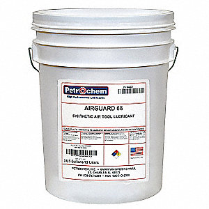 Air Tool Oil, 5 gal. Container Size