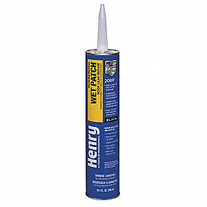 HENRY Roof Leak Repair, 10.1 oz., Black - 40P297|HE208R104 ...