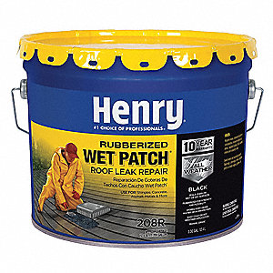 Roof Leak Repair, 3.3 gal., Black