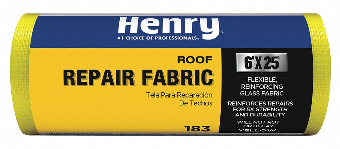 Henry He183195 4 X 150 Roof Repair Reinforcing Fabric Yellow for sale online