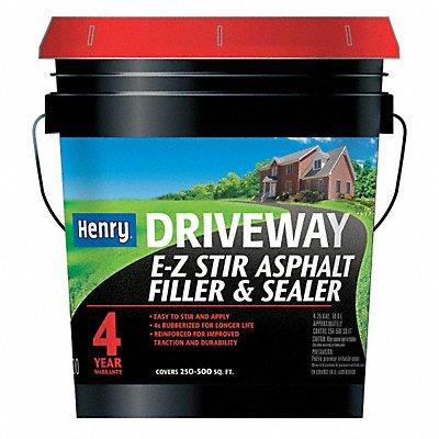 40P318 - Asphalt Filler  Sealer 4.75gal Black