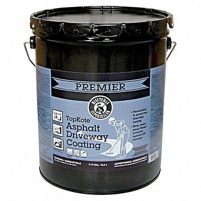 40P319 - Blacktop Coating 4.75 gal Black Flat