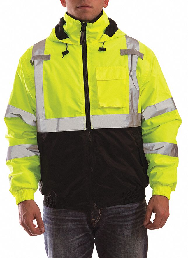 3xl BRAND NEW PACKED add company Hi Visibility Hi Viz Waterproof Jacket XXXL