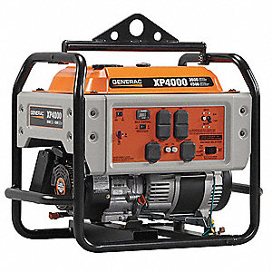 Portable Generator, 120/240VAC Voltage, 3600 Rated Watts, 4500 Surge Watts, 30/15 Amps @ 120/240V