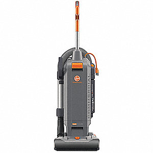 "Bagged Upright Vacuum with 13"" Cleaning Path, 152 cfm, HEPA Filter Type, 10 Amps"