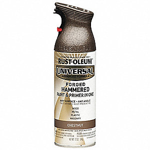 Universal Hammered Spray Paint in Hammered Chestnut for Aluminum, Metal, Wood, 12 oz.