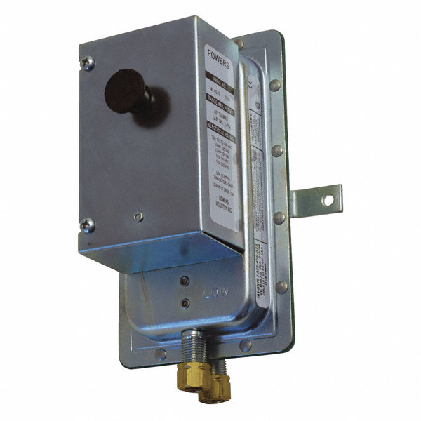 Siemens air sensing switch manual reset spst pn