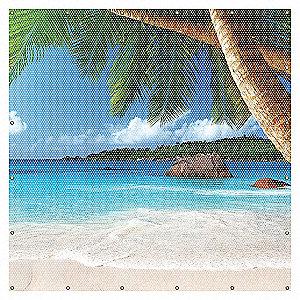 WELDING SCREEN BEACH 6X6FT YLW