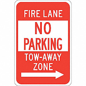 "Parking, No Header, Polyester, 18"" x 12"", Adhesive Surface, Not Retroreflective"