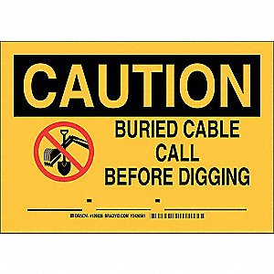 "Electrical Hazard, Caution, Plastic, 7"" x 10"", With Mounting Holes, Not Retroreflective"