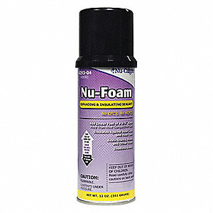 Multipurpose/Construction Sealant, 12 oz. Aerosol Spray, Beige