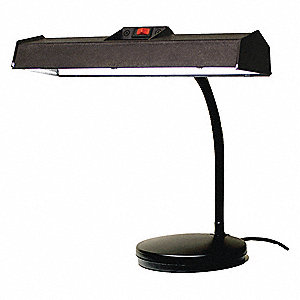 Task Light,LED,120V,18W,Black