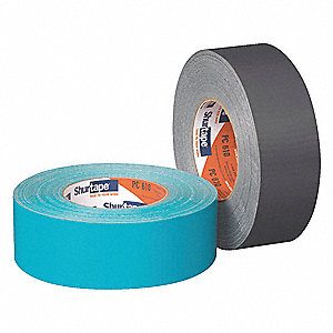 Industrial Duct Tape, 48mm X 55m, 10.00 mil Thick, Metallic Cloth, 24 PK