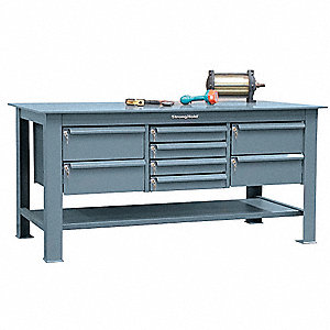 Astonishing Workbench Steel 36 Depth 34 Height 72 Width 16 000 Lb Load Capacity Ibusinesslaw Wood Chair Design Ideas Ibusinesslaworg
