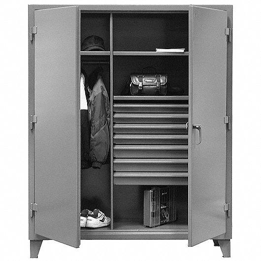 Industrial Storage Cabinets Grainger, Storage Cabinets With Locks