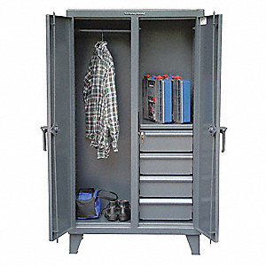 "Military Foot Locker, Assembled, 36"" Overall Width"