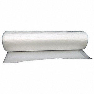 Trash Bag,  45 gal.,  HDPE,  Coreless Roll,  Clear,  PK 150