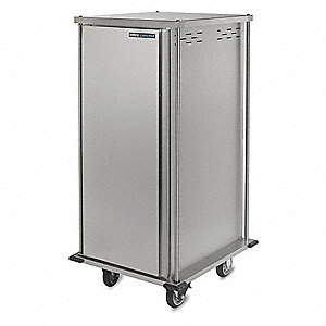 Food Tray Cart,Single Door,10 Trays