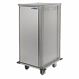 Food Tray Cart,Single Door,14 Trays