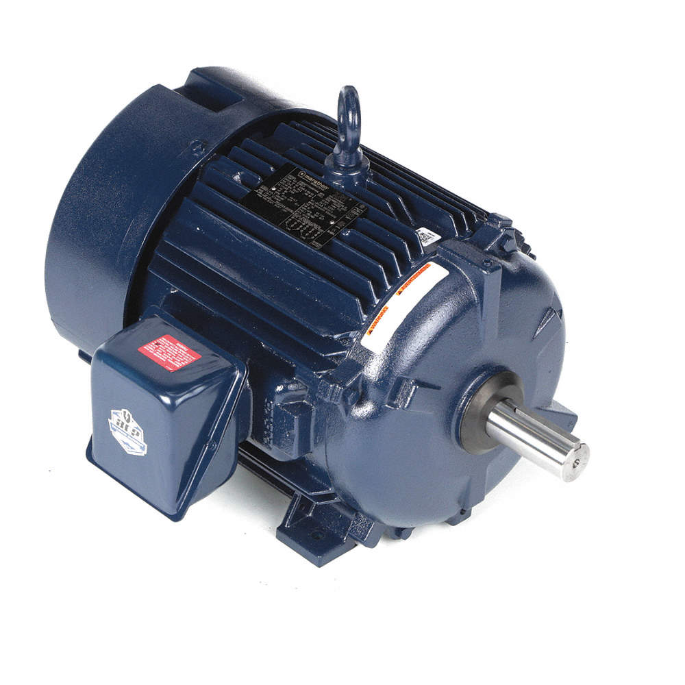 MARATHON MOTORS 15 HP General Purpose Motor,3-Phase,1775 Nameplate ...