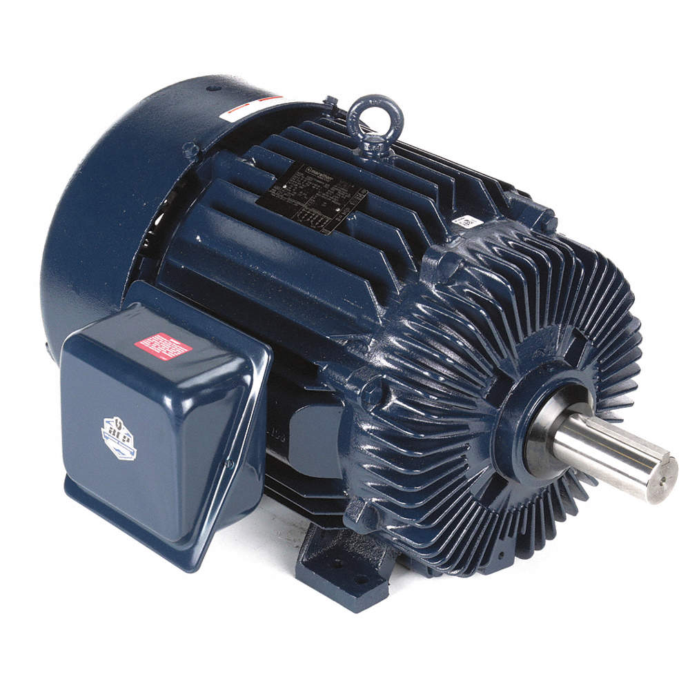 40 HP General Purpose Motor,3-Phase,1780 Nameplate RPM,Voltage  230/460,Frame 324T