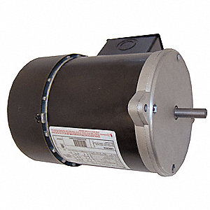 3/4 HP Auger Drive Motor,3-Phase,1725 Nameplate RPM,208-230/460 Voltage,Frame 56N