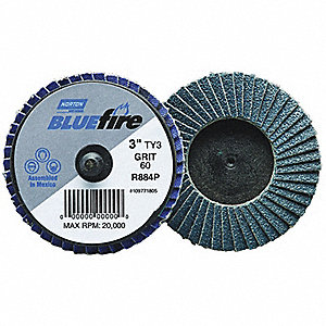 FLAP DISC 3IN TY3 40 BLUEFIRE