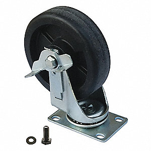 Swivel Caster,For Use with 31CE54