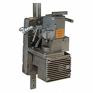 "25-1/2""H Piston Motor Air Winch for Lifting, Pulling with 1500 lb. 1st Layer Load Capacity"