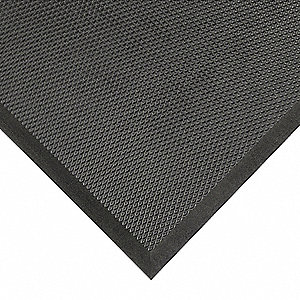 "Antifatigue Mat, 3 ft. x 3 ft. 3"", 1 EA"