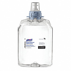 Unscented Foam Hand Soap, 2000mL Pump Bottle, Purell, 2 PK