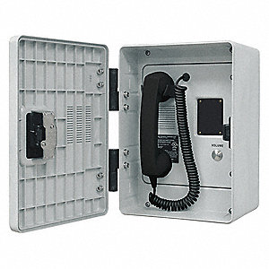 VoIP/Ethernet Telephone,  Gray,  Voicemail No