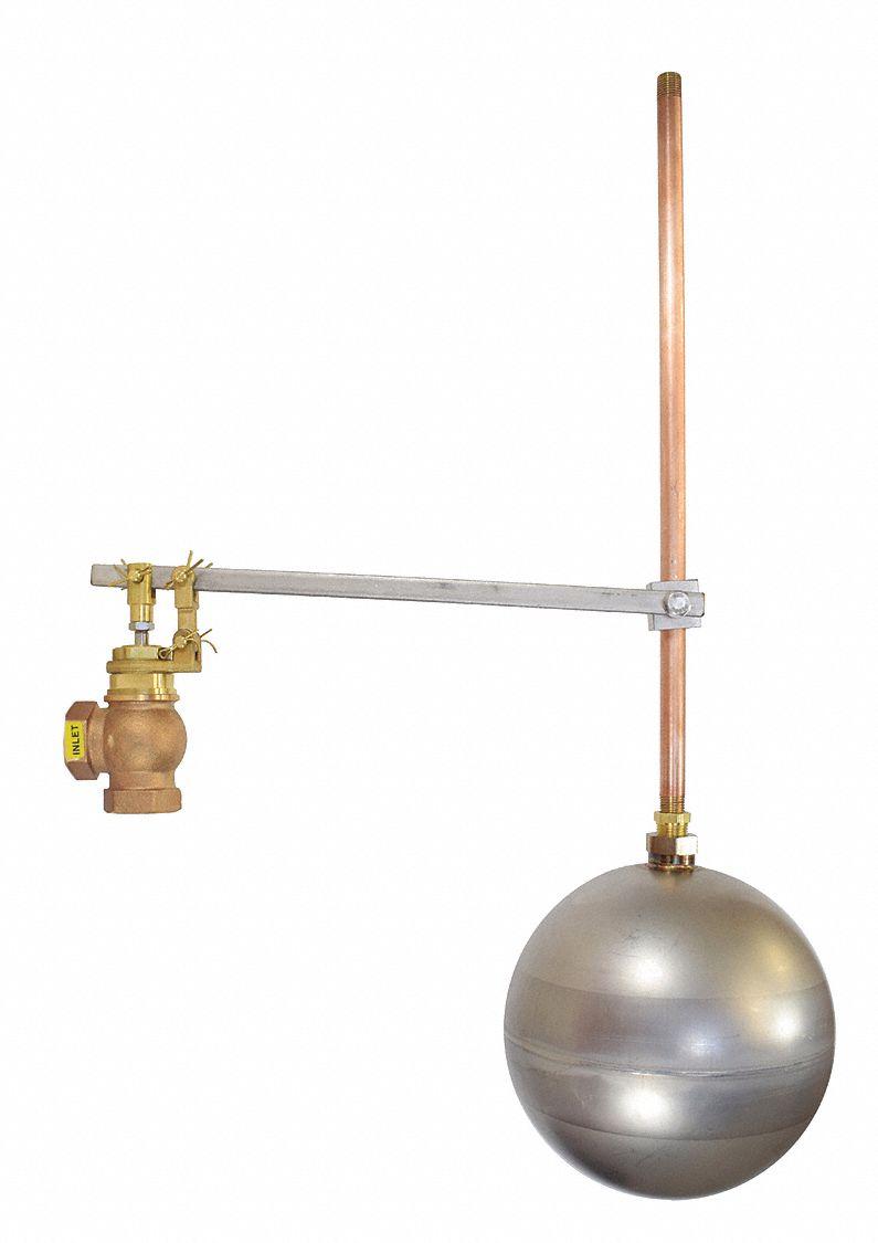 Keckley Float Bronze Threaded Globe Float Valve 1-1//2in Npt