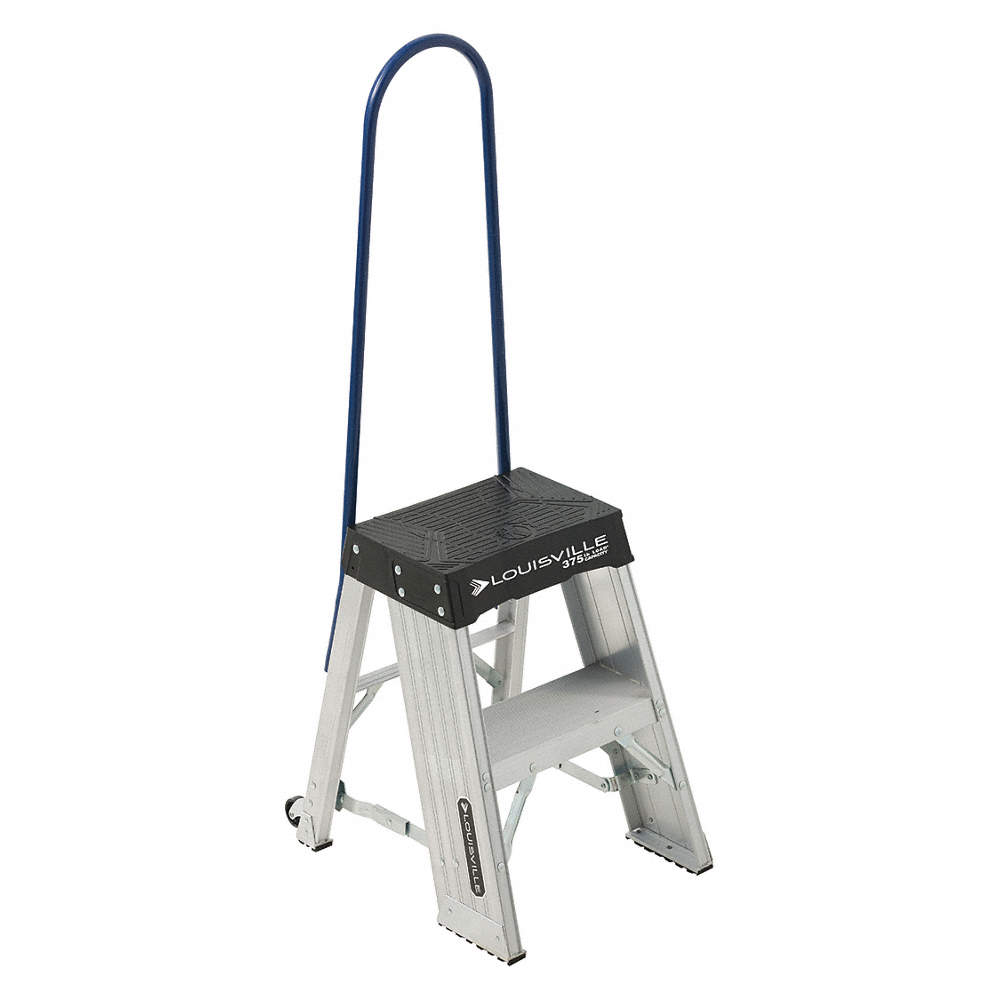 Prime Aluminum Rolling Step 27 Overall Height 375 Lb Load Capacity Number Of Steps 2 Spiritservingveterans Wood Chair Design Ideas Spiritservingveteransorg