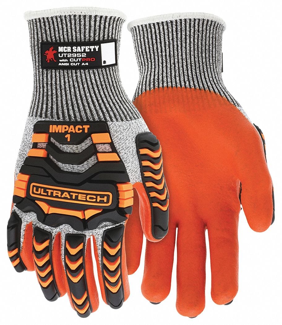Coated Gloves,  2XL,  1 PR
