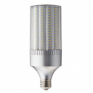 100 Watts LED Lamp, Cylindrical, Mogul Screw (E39), 14613 Lumens, 5700K Bulb Color Temp., 1 EA