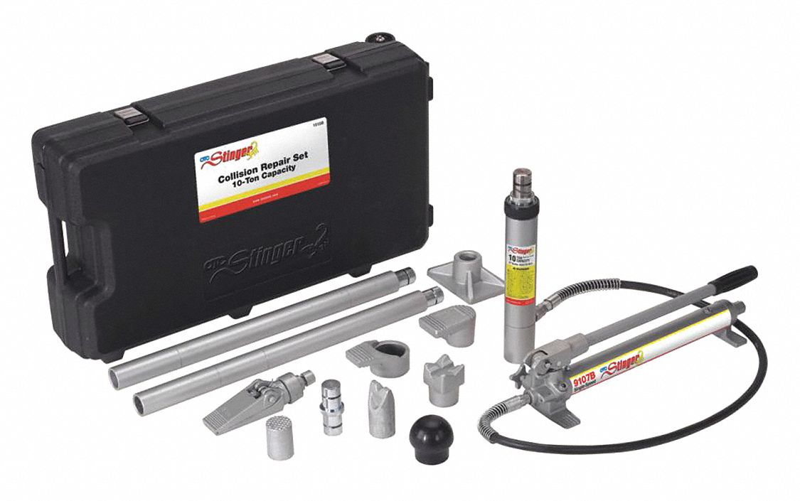 Collision Repair Set, 10 tons/Hydraulic