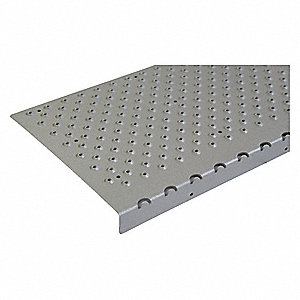 "Stair Nosing,Gray,30"" W,9"" D"