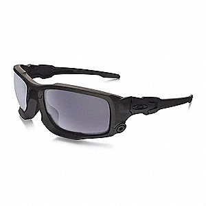 Oakley Det Cord >> Oakley Det Cord Scratch Resistant Safety Glasses Gray Lens Color