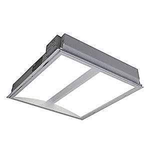Recessed Troffer, LED Replacement For U-Bend, 3000K, Lumens 3300, Fixture Rated Life 50,000 hr.