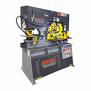 Hydraulic Ironworker,50 tons Max. Force