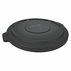 32 GALLON LID BLACK